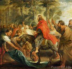 Peter Paul Rubens - Christ's Entry into Jerusalem