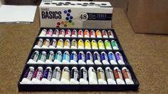 Amazon.com: Liquitex Assorted 22-milliliter Basics Acrylic Paint , 48-Pack: Arts, Crafts & Sewing