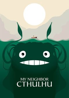 Cthulu earns his freakish qualities due to his evil powers. Does this mean that…