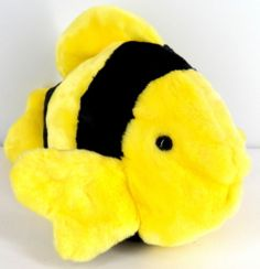 Bubbles Ty Beanie Buddies 1998 Fish SB101 | eBay. I have two of these and named them Bumble Bee and Honey Bee. They are good office mates.