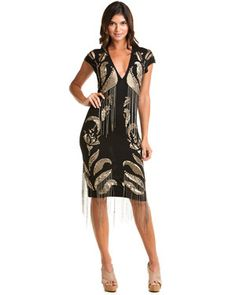 Just Cavalli Embellished Black Dress