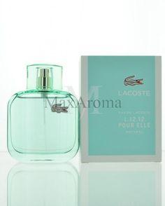 Lacoste L.12.12 Pour Elle Natural Eau De Toilette 3 oz 90 ml Spray for Women #Lacoste