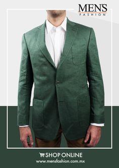 Un #saco puede elevar la calidad de tu vestimenta, dándole un aspecto más detallado y sofisticado. ¡Viste #Fashion! Cómpra aquí: www.mensfashion.com.mx
