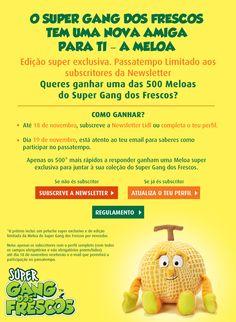 Passatempo | Ganha a Meloa do Super Gang dos Frescos - Lidl Portugal