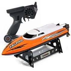 1053a396e42 udiRC UDI01 RC Speedboat Tempo Power Venom 2.4G 4CH 30km h Remote Control  Boat with Auto Rectifying Deviation Direction Function-in RC Boats from Toys  ...