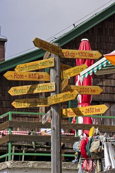 Which way? - St Wolfgang, Austria