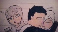 Assassins Creed Malik,Kadar, and Altair art drawing