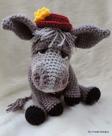 Teri Crews Designs: New Donkey Crochet Pattern