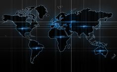 World Map 3D HD Wallpaper