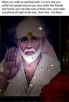 Sai Ram Sai Baba Wallpapers, Lord Vishnu Wallpapers, Sai Baba Pictures, God Pictures, Jai Ram, Sai Baba Miracles, Indian Spirituality, Spiritual Religion, Sai Baba Quotes