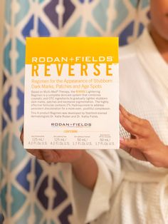 Rodan & Fields REVERSE Skin Care Regimen.