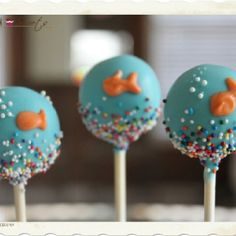 How To Make Bubble Guppy Cake Pops