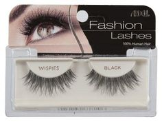 Ardell Fashion Lashes Pair - Wispies (Pack of 4)***100% Human Hair,Easy to apply,Comfortable to wear,Stay secure until you take them off,May be re-used up to three weeks,.