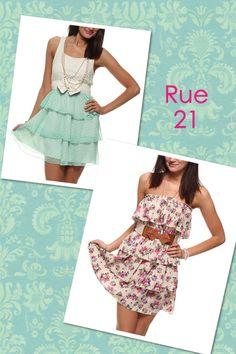 rue 21: cute dresses