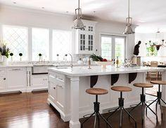 Hampton Designer Showhouse 2010, including Texas Lightsmith nickel silver smooth apron farmhouse sink
