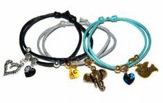 Zaprojektuj Swoją Bransoletkę: Bransoletki Sznurkowe z Kryształkami Swarovski #Swarovski #jewelry #bizuteria