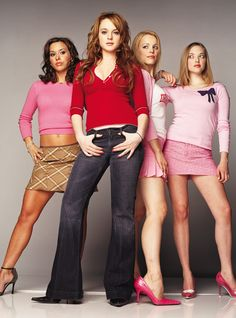 Film Title: Mean Girls/Lindsay Lohan, Rachel McAdams, Lacey Chabert & Amanda Seyfried. Copyright: TM&Copyright by Paramount Pictures. All Rights Reserved. For further information: please contact your local UIP Press Office. Mean Girls Outfits, Mean Girls Day, Mean Girls Costume, Mean Girls Movie, Girl Costumes, Halloween Costumes, Mean Girls Trivia, Bff Girls, Movie Costumes
