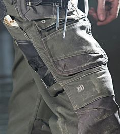 Tactical clothing is an integral part of any law enforcement agency's overall uniform. Tactical Wear, Tactical Pants, Tactical Clothing, Mens Work Pants, Work Trousers, Cargo Pants Men, Safety Workwear, Workwear Trousers, Mens Fashion