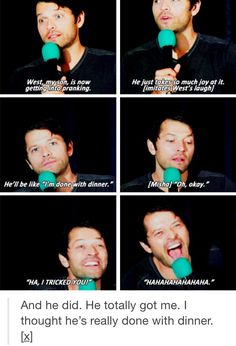 the love i have for misha and his son is something that will never end.