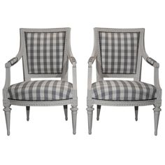 1stdibs at NYDC offered by Laserow Antiques, Swedish Gustavian Armchairs, Sweden 18th Century