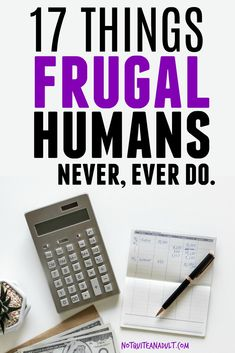 32 Things Frugal People Don't Do ~ Not Quite an Adult - Finance tips, saving money, budgeting planner Debt Free Living, Living On A Budget, Frugal Living Tips, Frugal Tips, Family Budget, Frugal Meals, Freezer Meals, Ways To Save Money, How To Make Money