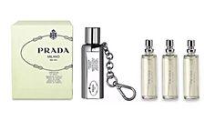 Infusion d'Iris Eau de Parfum Purse Spray Key Chain | Prada