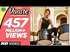 Vaaste Song Is Sung By Dhvani Bhanushali And Nikhil D'Souza. Dhvani Bhanushali is a Popular Singer. This Song Music Composed by Tanishk Bagchi. Vaaste Song Lyrics is Penned By Arafat Mehmood. Latest Hindi Video Songs, New Hindi Songs, All Songs, Music Songs, Love Songs, Songs 2017, Dj Music, Top Trending Songs, Arafat