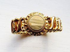 Bracelet 10K Gold Filled CARMEN D.F.B. Company Expansion Bracelet ...