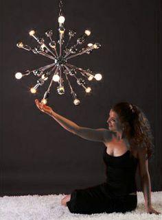 Sputnik Atomic Age, Mid Century, retro design, vintage, verlichting - Starburst - spiegelbolkop lampen