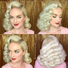 WEBSTA @ missrockabillyruby - I got to do hair on my gorgeous friend @pinupcarolyncole today! Don't worry we filmed it, tutorial will be edited tonight! Thanks friend for being my Barbie doll today!  #missrockabillyruby #hairbymissruby #pinup #pinuphair #vintage #vintagehair #vintagewaves #hollywoodwaves