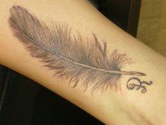 Tattoo-Foto: feder