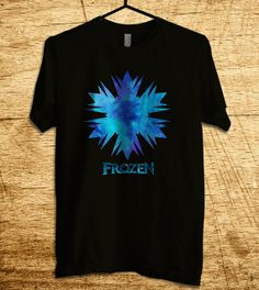 Frozen Shirt Frozen Tshirt Illustration Fozen Logo T by MalaAkfa, $17.00