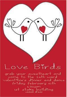 Valentines Invitation - Valentines Day Dinner Party Invitation ...
