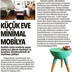 Küçük Eve Minimal Mobilya OLAY Gazetesi Bursa haber yansıması.  #mobilyaninkalbi #ismobtüyapta #decoration #ismob #decorationideas #mobilya #love #interiors #interiordesign #design #inspiration #archilovers #decor #housedesign #interiordecor #instadaily #furniturestore #interiorstyling #instadesign #instagood #instahome  #interiordesigner #styling #homedesign #lifestyle #klasikmobilya #mobilyadekorasyon #haber #mosder by trmosder http://discoverdmci.com