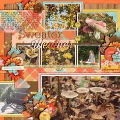 Template set 186 by Cindy Schneider. Sweater weather by Jady Day Studio.