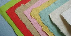 Make your own paper sheets