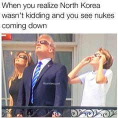 Kim Jong Un blocked out the Sun