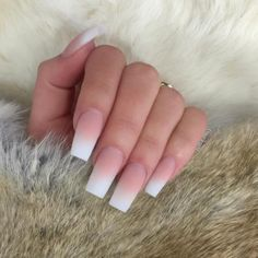 50 Gorgeous Ombre Matte Nail Designs You Will Love The trend of matte nail art designs have been rising in recent years. You can use matte nail art designs to enhance your temperament and taste and. Classy Acrylic Nails, Best Acrylic Nails, Acrylic Nail Designs, French Tip Acrylic Nails, Acrylic Nail Shapes, French Acrylics, Classy Nails, Perfect Nails, Gorgeous Nails