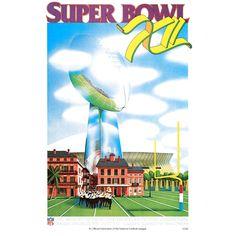 "Fanatics Authentic 1978 Cowboys vs. Broncos 36"" x 48"" Canvas Super Bowl XII Program - $159.99"