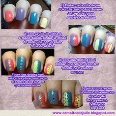 Esmaltes de Julie: Nail art basado en nail art