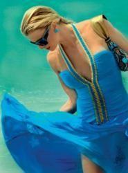lido beach shoot. love this dress