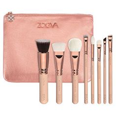 ZOEVA Rose Golden Vol. 2 Luxury Brush Set | makeupbrushes | Beauty Bay