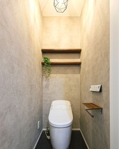 Guest Toilet, Washroom, Room Interior, Home Kitchens, Simple, Modern, House, Architecture, Interiors