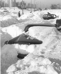 The Great Midwest Blizzard, January 1967 - this giant blizzard affected areas from the Midwest all the way to the Southwest. That's a big storm.
