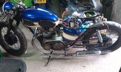 Cafe Racer TRIUMPH 3TA, T 110