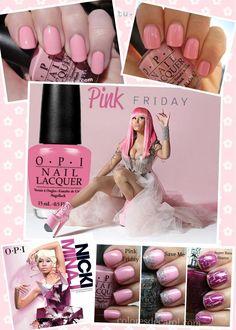 Hello~It's pink friday! NIKI MINAJ <> OPI #NLN16