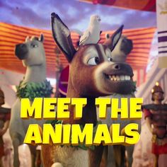 See The Star in theaters November 17. | For the very first time, meet the animals behind the first Christmas. On November 17, to save Christmas, it's going to take a miracle... | #TheStarMovie #Christmas #movienight #familymovie #kidsmovie