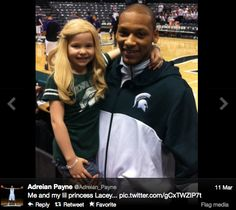 Michigan State's Adreian Payne's Biggest Fan: Lacey Holsworth