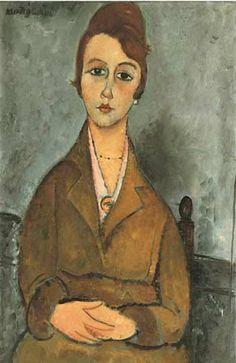 Portrait of Suzanne Valadon by Amedeo Modigliani