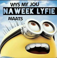 Naweek lyfie Witty Quotes Humor, Afrikaanse Quotes, Twitter Cover, Live Love, For Everyone, Wallpaper Quotes, Wood Signs, Minions, Laughter